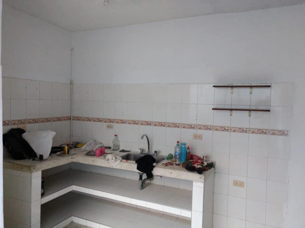 en la venta la cocina tradicional en el apartamento